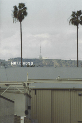 Hollywood Sign from Paramount Lot